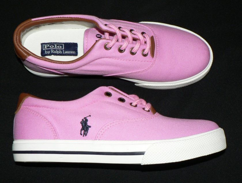 Lauren Girls New 5 Vaughn Youth Polo Ralph Pink Shoes Sneakers xwWfFq