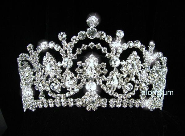 Bridal Bridesmaid Prom Party Swarovski Crystal Rhinestone Tiara