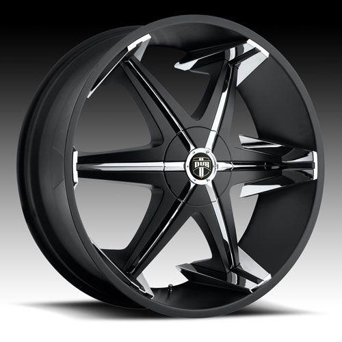 22 DUB Big Homie Shoes Wheels TIRES 22 inch Black RIMS