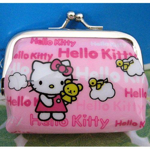 New hello kitty Girl Coin Bag Children Purse New best