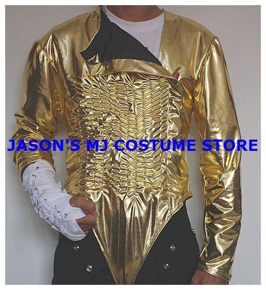 Michael Jackson Dangerous Gold Tour Leotard FULL OUTFIT